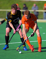 Capital v Midlands men. 2019 National Hockey Under-18 Tournament at National Hockey Stadium in Wellington, New Zealand on Thursday, 11 July 2019. Photo: Dave Lintott / lintottphoto.co.nz