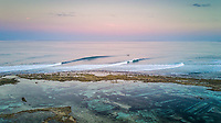 Nemberala Beach Resort, Rote, Indonesia. (Tuesday, September 5 2017) The surf was in the 4' plus range this morning from the south - southwest. Guests headed out to headed to T-Land for a surf on first light . The South East Trade winds  stayed light early morning before getting stronger during the day. Photo: joliphotos