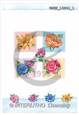 Stephen, FLOWERS, paintings(GBUK13941/1,#F#) Blumen, flores, illustrations, pinturas ,everyday