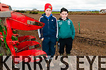 Ballyduff Ploughing Match : Pictured at the Ballyduff Ploughing Match held on Mike Joe Quinlan's farm on Sunday last were Darragh Quinlan & Tommy O'Grady, Ballyduff.