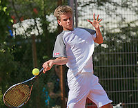August 4, 2014, Netherlands, Dordrecht, TC Dash 35, Tennis, National Junior Championships, NJK,  Alec Deckers (NED)<br /> Photo: Tennisimages/Henk Koster