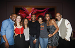 Cast of Stick Hill - Dulle Hill , Rosie Benton, Tracie Thoms, Mekhi Phifer, author Lydia R. Diamond, Condola Rashad, Ruben Santiago-Hudon (AMC & A/W) - - Broadway's Stick Fly at the Cort Theatre, New York City, New York with after party at 48 Lounge with Alicia Keys and cast - Ruben Santiago-Hudson, Phylicia Rahad (Santa Barbara and OLTL) - mom of Condola (in cast) along with Tracie Thoms, Dulle Hill (Psych), Mekhi Phifer. (Photo by Sue Coflin/Max Photos)