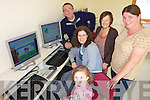 ONLINE: Checking out the brand new internet cafe? at Ballyheigue Family Resource Centre this week, l-r: