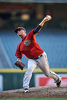 Arizona Diamondbacks pitcher Anfernee Benitez (14) during an Instructional League game against the Oakland Athletics on October 15, 2016 at Chase Field in Phoenix, Arizona.  (Mike Janes/Four Seam Images)