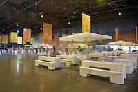 18-9-09, Netherlands,  Maastricht, Tennis, Daviscup Netherlands-France, . Publieksruimte
