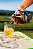USA, Tennessee, Nashville, Iroquois Steeplechase, Tennessee whiskey on the rocks