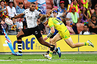 Action from the 2018 HSBC World Sevens Series Hamilton pool match between Australia and Fiji at FMG Stadium in Hamilton, New Zealand on Saturday, 3 February 2018. Photo: Kerry Marshall / lintottphoto.co.nz