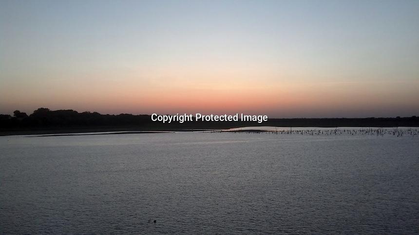 Sunset Texas Lake