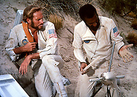 Planet of the Apes (1968) <br /> Charlton Heston &amp; Jeff Burton<br /> *Filmstill - Editorial Use Only*<br /> CAP/KFS<br /> Image supplied by Capital Pictures