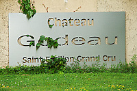 chateau gudeau saint emilion bordeaux france