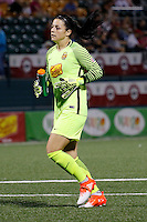 Rochester, NY - Saturday Aug. 27, 2016: Sabrina D'Angelo during a regular season National Women's Soccer League (NWSL) match between the Western New York Flash and the Houston Dash at Rochester Rhinos Stadium.