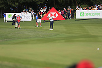 Xander Schauffele (USA) on the 16th fairway during the final round of the WGC HSBC Champions, Sheshan Golf Club, Shanghai, China. 03/11/2019.<br /> Picture Fran Caffrey / Golffile.ie<br /> <br /> All photo usage must carry mandatory copyright credit (© Golffile | Fran Caffrey)