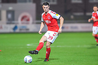 Fleetwood Town's defender Nathan Sheron (29) during the The Leasing.com Trophy match between Fleetwood Town and Liverpool U21 at Highbury Stadium, Fleetwood, England on 25 September 2019. Photo by Stephen Buckley / PRiME Media Images.