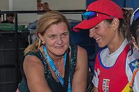 Sarasota. Florida USA.  left. Elisabeta LIPA-OLENIUC. five gold, two silver and one bronze, Olympic medals. 2017 World Rowing Championships, Nathan Benderson Park<br /> <br /> Saturday  30.09.17   <br /> <br /> [Mandatory Credit. Peter SPURRIER/Intersport Images].<br /> <br /> <br /> NIKON CORPORATION -  NIKON D500  lens  AF Zoom 24-70mm f/2.8G mm. 320 ISO 1/125/sec. f 13