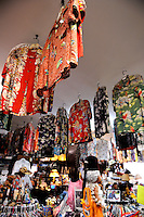 "Hawaiian shirts (aka ""aloha shirts"") for sale at Bailey's Antiques and Aloha Shirts store in Honolulu, Hawaii"
