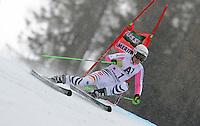 ATENCAO EDITOR IMAGEM EMBARGADA PARA VEICULOS INTERNACIONAIS - SEMMERING, AUSTRIA, 28 DEZEMBRO 2012 - AUDI FIS ALPINE WORLD CUP - A atleta Viktoria Rebensburg compete na prova de Slalom Gigante do esqui Alpino durante a Audi FIS World Cup em Semmering na Austria nesta sexta-feira, 28. (FOTO: PIXATHLON / BRAZIL PHOTO PRESS).
