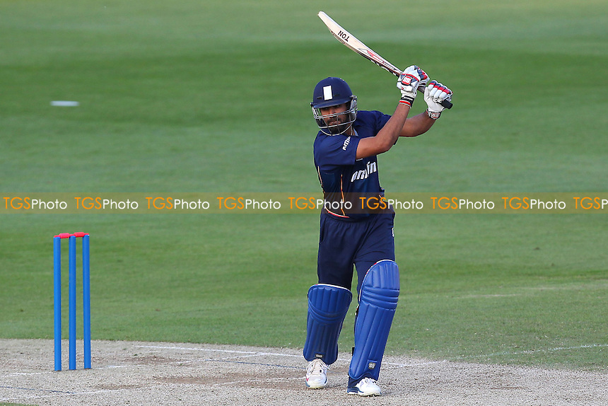 Ravi Bopara of Essex in batting action - Essex Eagles vs Shepherd Neame Essex League XI - Twenty 20 Cricket at the Essex County Ground, Chelmsford - 15/05/14 - MANDATORY CREDIT: Gavin Ellis/TGSPHOTO - Self billing applies where appropriate - 0845 094 6026 - contact@tgsphoto.co.uk - NO UNPAID USE