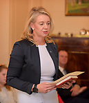 Australian Minister for Agriculture Senator Bridget McKenzie takes the oath at Government House, Canberra, Wednesday May 29, 2019. AFP PHOTO/ MARK GRAHAM