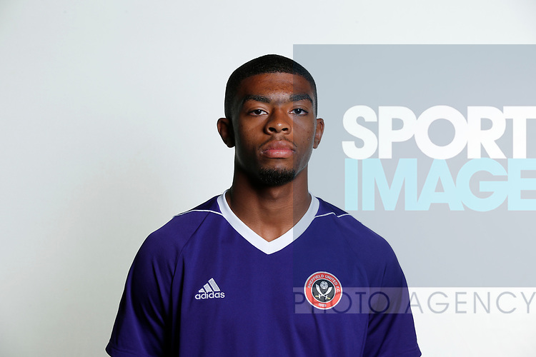 Keenan Ferguson academy photocall at the Steelphalt Academy, Sheffield. Picture date 22nd August 2017. Picture credit should read: Simon Bellis/Sportimage