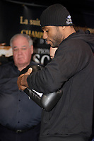Montreal (QC) CANADA- Dec 10 2009- Official Weighting before Dec 11 Fight :<br /> Jean Pascal