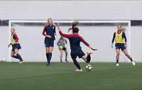 Lisbon, Portugal - November 6, 2018:  The USWNT trains in preparation for an international friendly against Portugal.