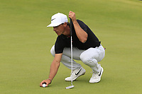 Thorbjorn Olesen (DEN) on the 17th green during Saturday's Round 3 of the Dubai Duty Free Irish Open 2019, held at Lahinch Golf Club, Lahinch, Ireland. 6th July 2019.<br /> Picture: Eoin Clarke | Golffile<br /> <br /> <br /> All photos usage must carry mandatory copyright credit (© Golffile | Eoin Clarke)