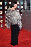 Noomi Rapace<br /> at the 2017 BAFTA Film Awards held at The Royal Albert Hall, London.<br /> <br /> <br /> ©Ash Knotek  D3225  12/02/2017