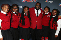 """LOS ANGELES - SEP 10:  Detroit Youth Choir at the """"America's Got Talent"""" Season 14 Live Show Red Carpet at the Dolby Theater on September 10, 2019 in Los Angeles, CA"""