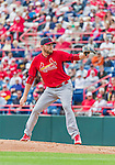7 March 2015: St. Louis Cardinals pitcher Marcus Hatley on the mound during a Spring Training game against the Washington Nationals at Space Coast Stadium in Viera, Florida. The Cardinals fell to the Nationals 6-5 in Grapefruit League play. Mandatory Credit: Ed Wolfstein Photo *** RAW (NEF) Image File Available ***