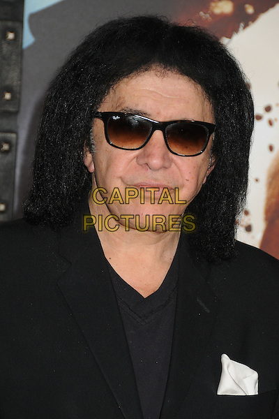 4 March 2014 - Hollywood, California - Gene Simmons. &quot;300: Rise of an Empire&quot; Los Angeles Premiere held at the TCL Chinese Theatre. <br /> CAP/ADM/BP<br /> &copy;Byron Purvis/AdMedia/Capital Pictures