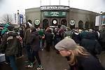 04/14/2011 - The crowd files in at Jeld-Wen Field Thursday before the Portland Timbers' opening game.