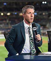 WASHINGTON DC - OCTOBER 27: Kevin Burkhardt at World Series Game 5: Houston Astros at Washington Nationals on Fox Sports at Nationals Park on October 27, 2019 in Washington, DC. (Photo by Frank Micelotta/Fox Sports/PictureGroup)