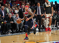 Isaiah Thomas (G, Washington Wizards, #4) - 22.01.2020: Miami Heat vs. Washington Wizards, American Airlines Arena