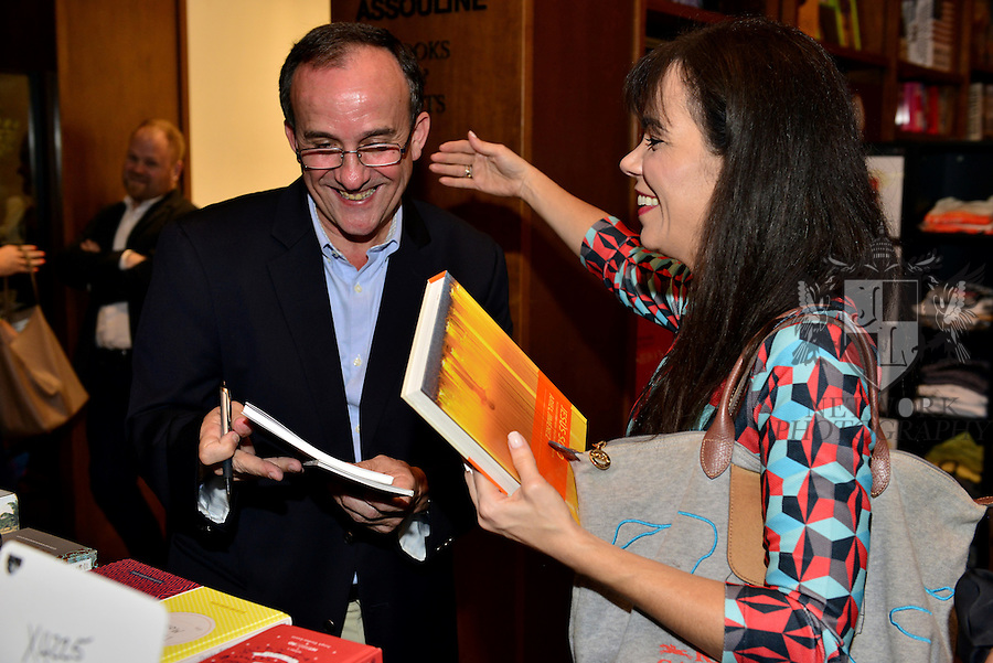 CORAL GABLES, FL - JANUARY 02: Attends The Art of the Conversation series discussion with Adriana Cisneros, Ariel Jim&eacute;nez, Tobias Ostrander and Gabriel P&eacute;rez-Barreiro on the topic of &ldquo;The Art of the Conversation,&rdquo;  hosted at Books &amp; Books<br />  at Books and Books Coral Gables on Tuesday February 2, 2016 in Coral Gables, Florida.  ( Photo by Johnny Louis / jlnphotography.com )
