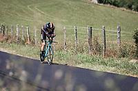 Belgian National TT Champion Wout Van Aert (BEL/Jumbo Visma)<br /> <br /> Stage 13: ITT - Pau to Pau (27.2km)<br /> 106th Tour de France 2019 (2.UWT)<br /> <br /> ©kramon
