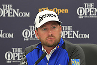 Graeme McDowell (NIR) in the interview room during the preview of the the 148th Open Championship, Portrush golf club, Portrush, Antrim, Northern Ireland. 17/07/2019.<br /> Picture Thos Caffrey / Golffile.ie<br /> <br /> All photo usage must carry mandatory copyright credit (© Golffile | Thos Caffrey)