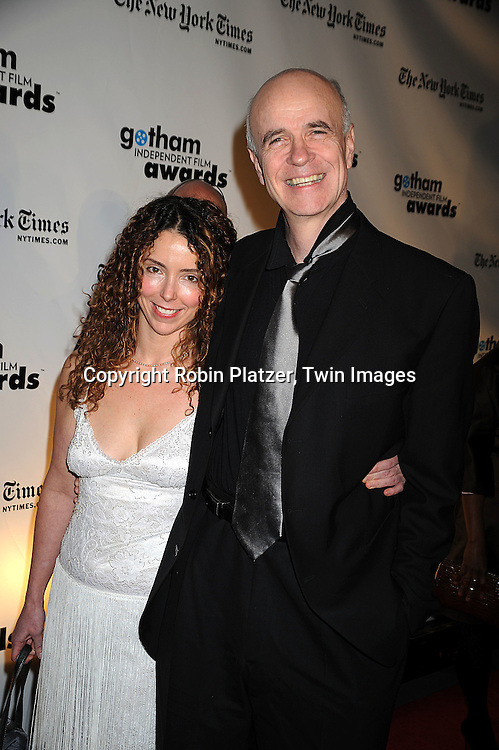 Lisa Ebersole and actor Tom Noonan..posing for photographers at the 18th Annual Gotham Independent Film Awards on December 2, 2008 in New York. ....Robin Platzer, Twin Images