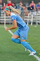 Piscataway, NJ - Saturday Aug. 27, 2016: Julie Johnston prior to a regular season National Women's Soccer League (NWSL) match between Sky Blue FC and the Chicago Red Stars at Yurcak Field.