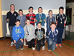 Under 13 players pictured at Ardee Celtic underage awards night in Ardee Parish Centre. Photo:Colin Bell/pressphotos.ie