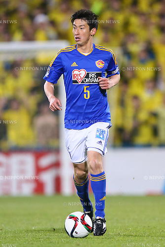 Naoki Ishikawa (Vegalta),<br /> MARCH 13, 2015 - Football / Soccer : <br /> 2015 J1 League 1st stage match between<br /> Kashiwa Reysol 1-1 Vegalta Sendai<br /> at Hitachi Kashiwa Stadium in Chiba, Japan.<br /> (Photo by Shingo Ito/AFLO SPORT)