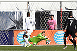 09 April 2016: Vancouver's David Ousted (DEN) makes a save. DC United hosted the Vancouver Whitecaps FC at RFK Stadium in Washington, DC in a 2016 Major League Soccer regular season game. DC United won the match 4-0.
