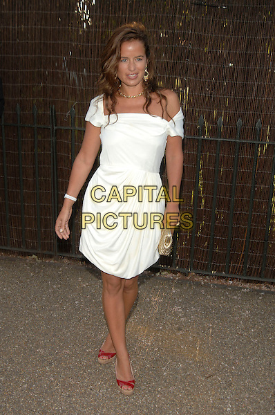 JADE JAGGER .Serpentine Gallery Summer Party, Kensington Park Gardens.11th July 2007 London, England.full length.Ref:CAP/PL.©Phil Loftus/Capital Pictures