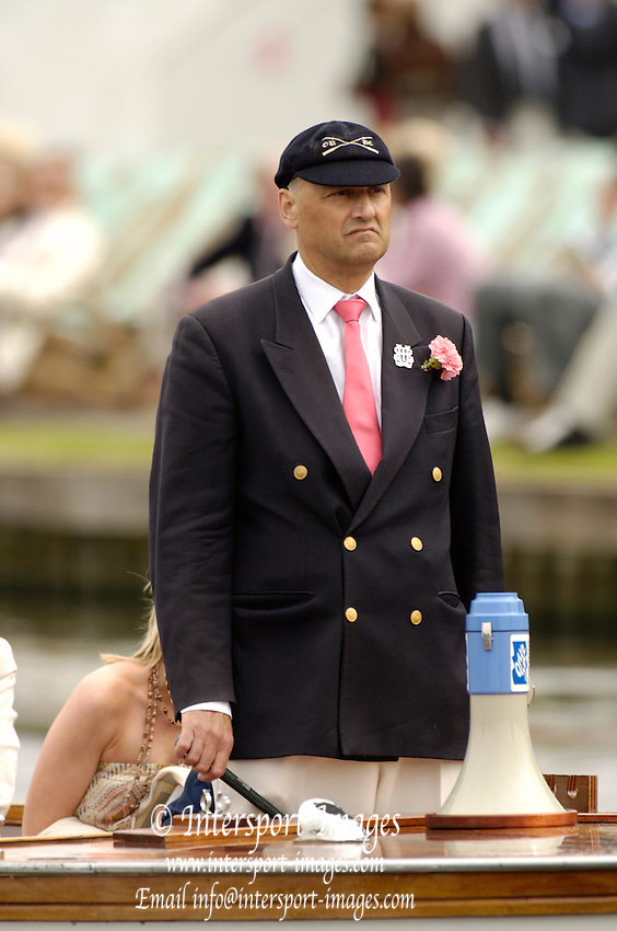 ENGLAND; Wednesday 28.06.2006. Henley Steward; Prof; Boris RANKOV. Photo; Peter Spurrier/Intersport Images; email images@intersport-images.com Henley Royal Regatta, Rowing Courses, Henley Reach, Henley, ENGLAND [Mandatory credit; Peter Spurrier/Intersport Images] 2006 . HRR.