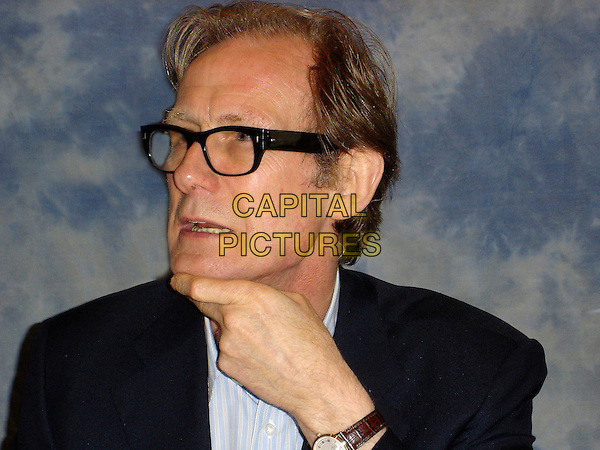BILL NIGHY.Press conference at the Four Season Hotel, Los Angeles, California, USA..June 7th, 2006.Ref: AW.headshot portrait glasses.www.capitalpictures.com.sales@capitalpictures.com.© Capital Pictures.