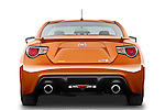Straight rear view of a 2013 Toyota GT86 Sport Coupe