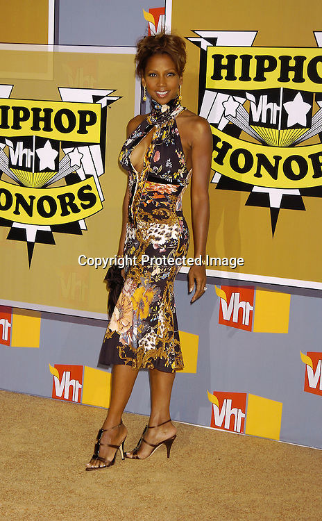Holly Robinson Peete..at the 2nd Annual VH1 Hip Hop Honors taping on ..September 22, 2005 which will air on VH1 on September 26, 2005. ..Photo by Robin Platzer, Twin Images