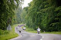 peloton through the forest<br /> <br /> Ster ZLM Tour 2014