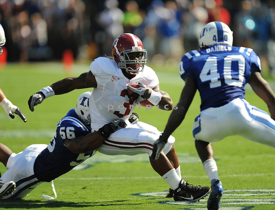 TRENT RICHARDSON, of Alabama in action during their game against Duke on September 18, 2010 in Durham, NC...Alabama won 62-13