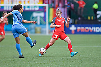 Portland, OR - Saturday June 17, 2017: Meghan Klingenberg during a regular season National Women's Soccer League (NWSL) match between the Portland Thorns FC and Sky Blue FC at Providence Park.