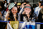 Fans at the media day before the 2018 Saitama Criterium, Japan. 3rd November 2018.<br /> Picture: ASO/Pauline Ballet | Cyclefile<br /> <br /> <br /> All photos usage must carry mandatory copyright credit (&copy; Cyclefile | ASO/Pauline Ballet)